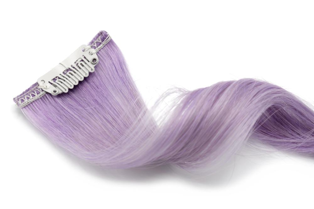 Clip in pramínek remy lila